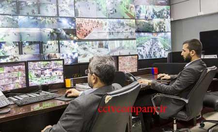 امنیت حرم حضرت ابوالفضل العباس (س) با ۸۰۰ دوربین مدار بسته