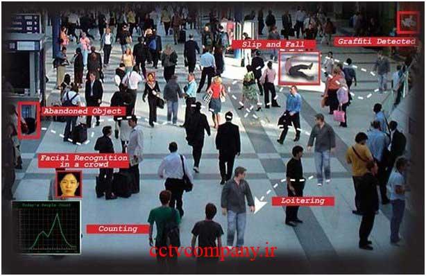 دوربین مدار بسته تشخیص چهره در مسکو