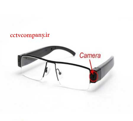 عینک طبی مجهز به دوربین مدار بسته