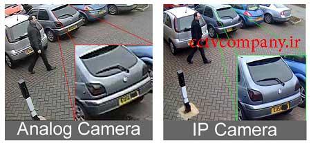 فرق بین دوربین های (IP) با دوربین های آنالوگ
