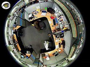 مقایسه دوربین مدار بسته اسپید دام PTZ با دوربین فیش آی