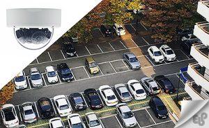نصب دوربین مدار بسته در فضاهای باز و پارکینگ ها