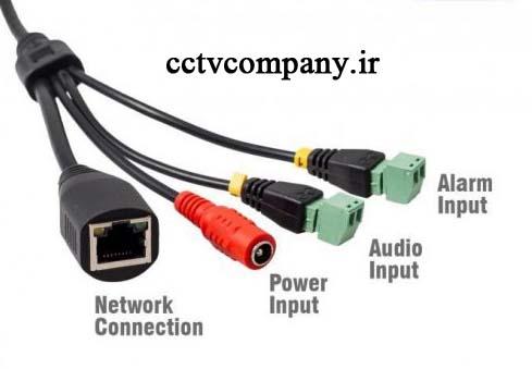 نصب میکروفن دوربین IP