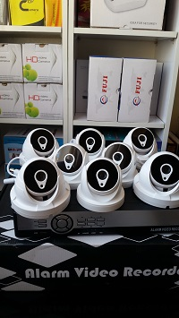 پک دوربین مدار بسته با 8 دوربین