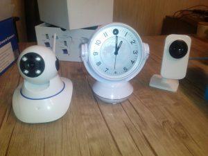 دوربین ساعتی IP دومگا پیکسل