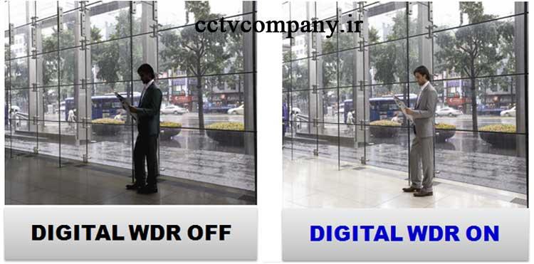 WDR در دوربین مدار بسته