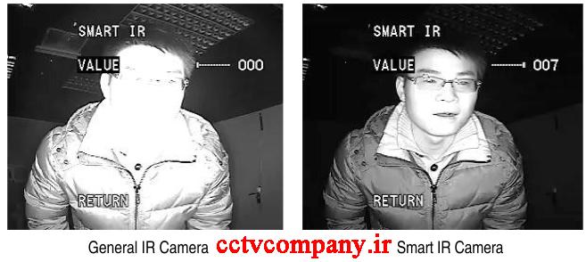 ویژگی smart ir در دوربین های مدار بسته